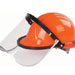 Clear Face Visor with aluminum bracket Model No. MZ-2A